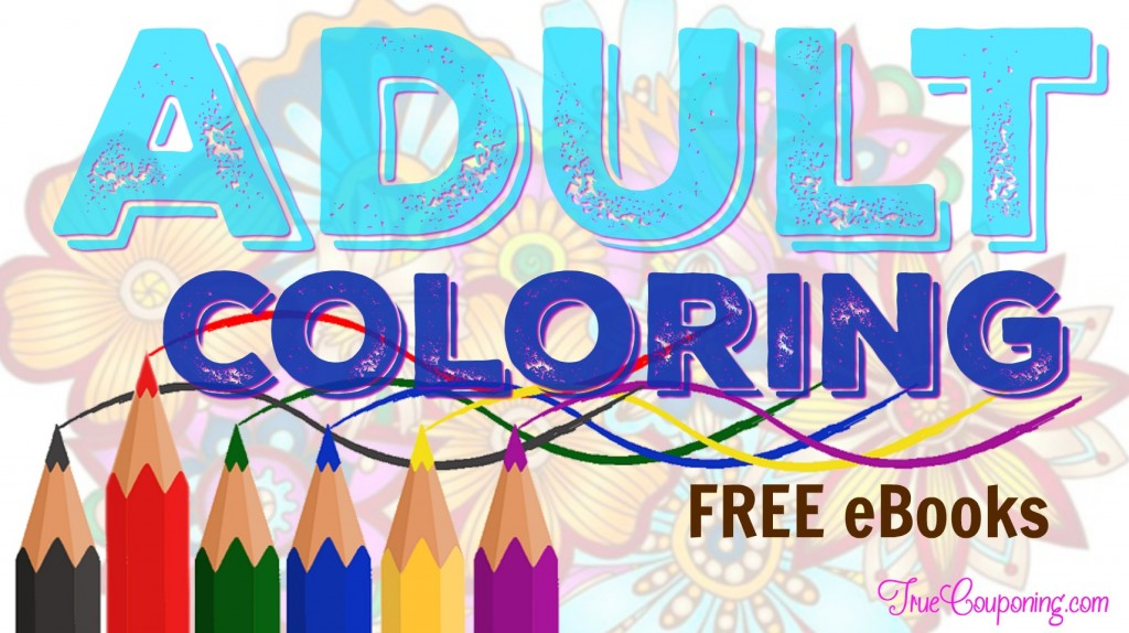 FREE Adult Coloring Books