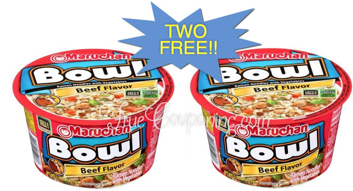 {Video Replay} Fox Deal of the Week! Two FREE Noodle Bowls!! (Only One Coupon!)