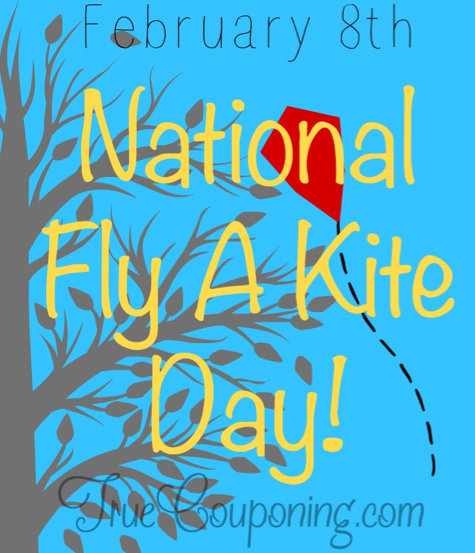 Today is National Kite Flying Day!