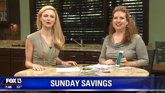 {Video Replay} Fox 13 Savings Segment ~ Secret Tips to Save More at Publix!