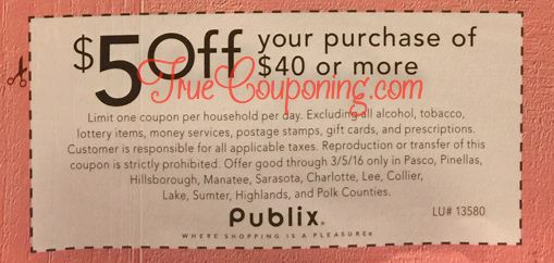 Are We Receiving A Special Publix Coupon This Sunday 2/28? HECK YEAH WE ARE!! (Select FL Counties)