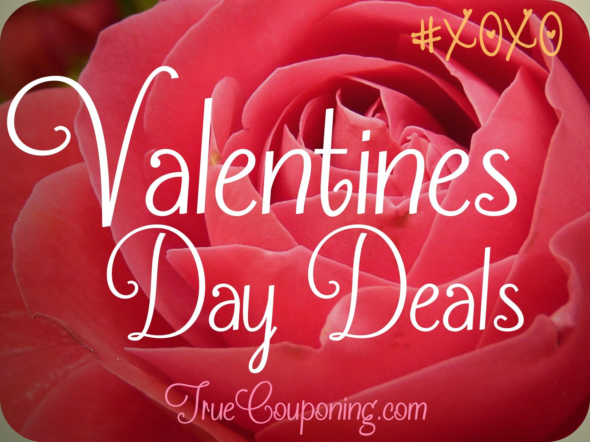 Valentine's Day FREEBies, Meal Deals & Super CHEAP Discounts!