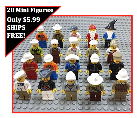Mini Figures Men Pack of 20 $5.99 INCLUDING SHIPPING!