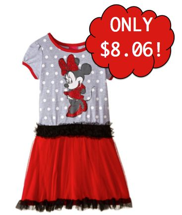 Girls Disney Minnie Mouse Tutu Dress $8.06! Ships FREE with Amazon Prime!