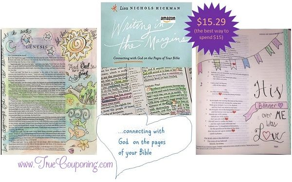Writing in the Margins: Connecting with God on the Pages of Your Bible ~ $15.29 SHIPPED!
