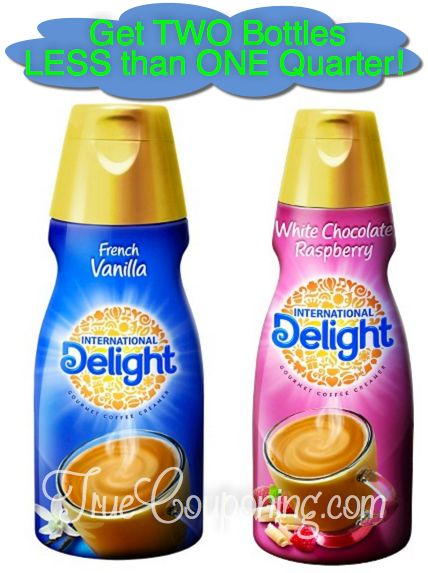 Fox Deal of the Week! Two Bottles of International Delight Coffee Creamer for Less Than a Quarter TOTAL!!