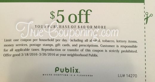 Go Check Your Mailbox! I Found $10 In Mine Today! Publix $5 Off $40 & Fresh Market $5 Off $25!