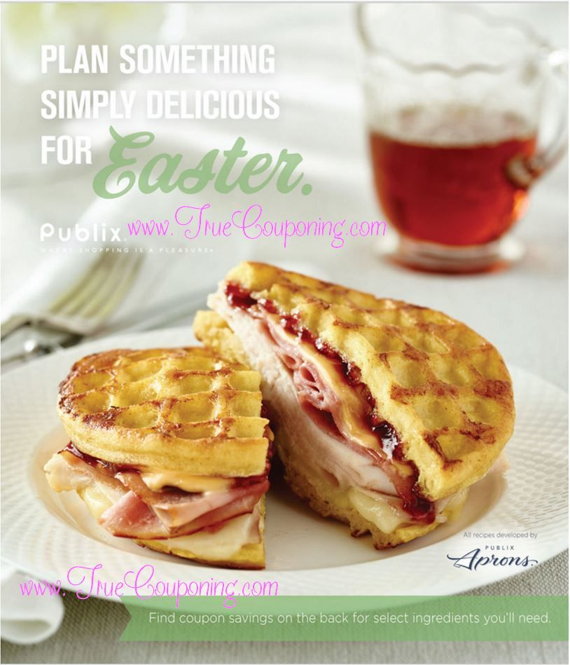 "Publix ""Plan Something Simply Delicious for Easter"" Coupon Booklet & Printables"