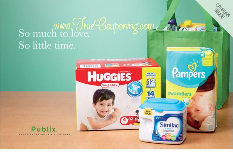 "Publix ""So Much to Love. So Little Time."" Baby Coupon Booklet & Printables (Valid 3/28 – 4/27)"