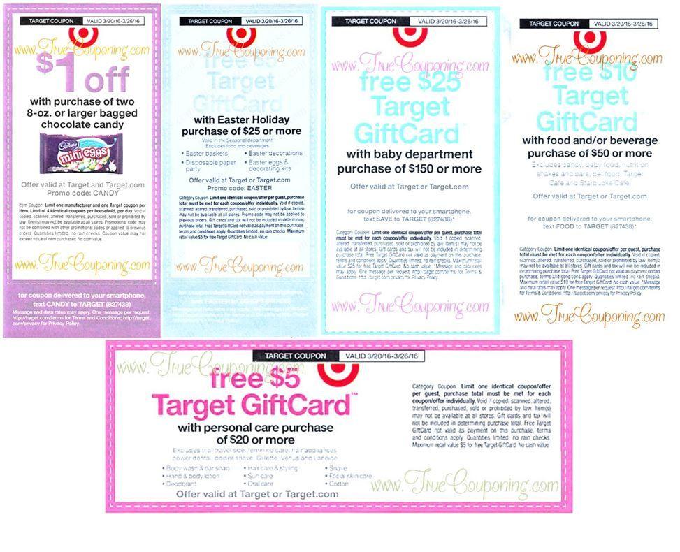 Fake coupons used at target