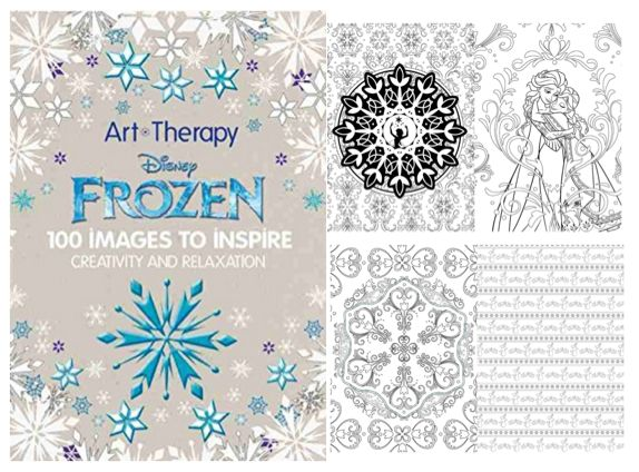 Disney Frozen Adult Coloring Book
