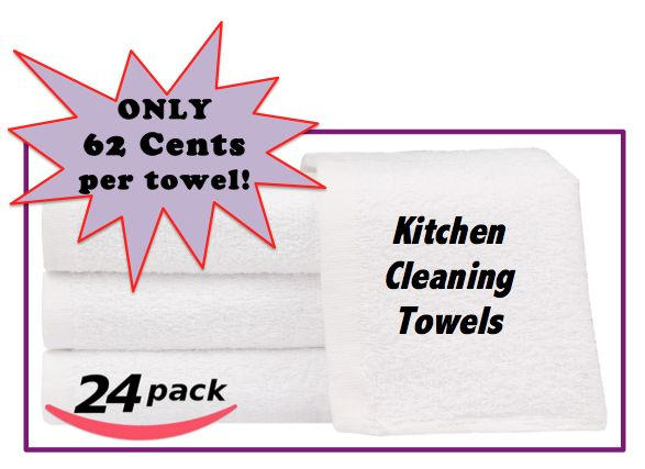 kitchen cleaning towels