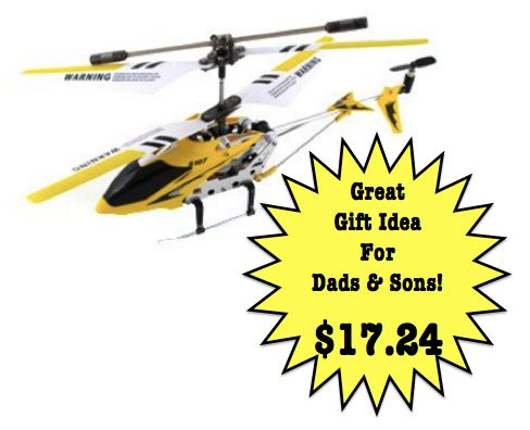 LOWER PRICE!! RC HELICOPTER just $16.92! Ships FREE with Prime