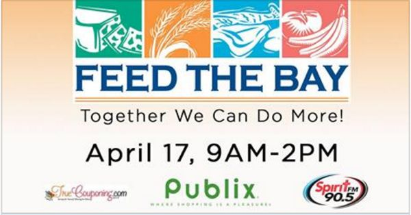 Tampa Bay Area: Huge Donation Outreach, Feed The Bay, is THIS Sunday!