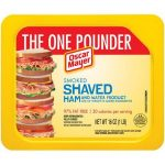 Oscar Mayer Deli Shaved Lunch Meat One Pound $2.50 Each {No Coupon Needed} at Winn Dixie!