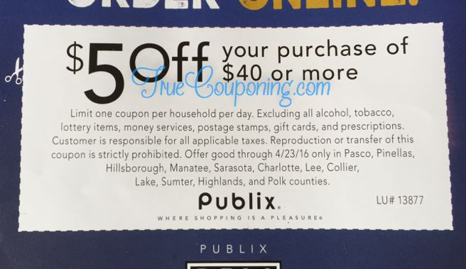 Are We Receiving A Special Publix Coupon This Sunday 4/17? YEP WE SURE ARE!! (Select FL Zip Codes)