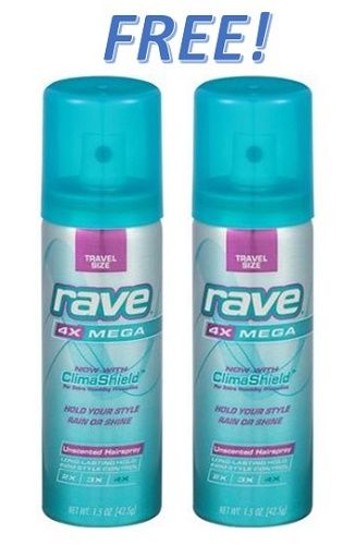 Fox Deal of the Week! FREE Rave Hairspray for Mom's Purse!