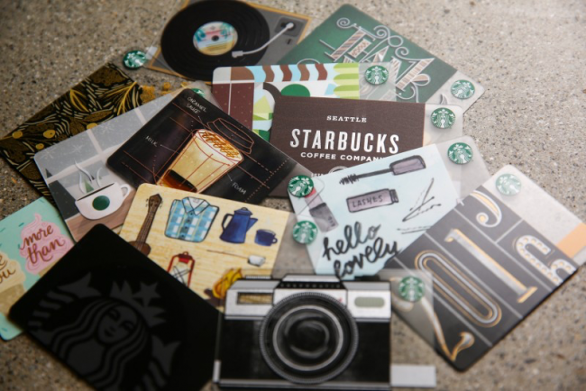 Starbucks Discounted Gift Cards