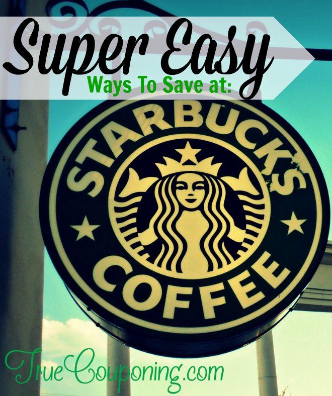 Ways to Save At Starbucks