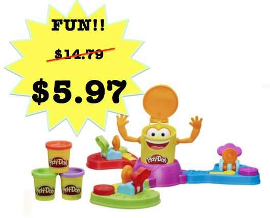 Save 60% on Play Doh Launch Game! Was $14.79 ~ NOW $5.97!