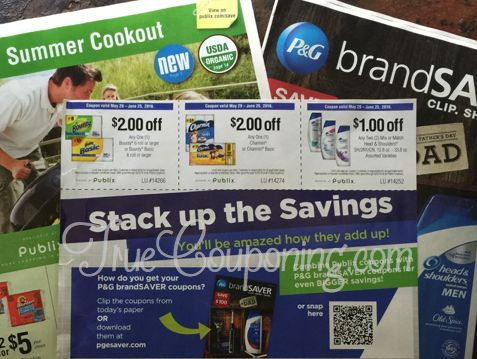 Don't Miss the SHEET of FIFTEEN Publix Coupons Coming in THIS Sunday's (5/29/16) Paper!