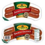 Eckrich Smoked Sausage $2 Each at Dollar General this Week!