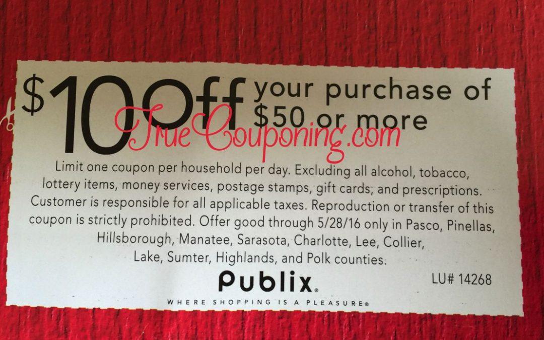 Would You Like a Bonus $10 This Sunday 5/22? WOOOHOOOO!! (Select FL Counties)