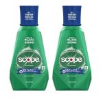 TWO FREE + $0.52 OVERAGE on Scope Mouthwash at CVS!