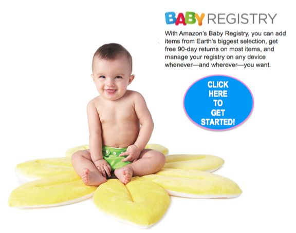 Amazon.com Prime Members: FREE Welcome Box {$35 Value} & Coupons with New Baby Registry!