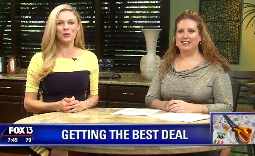 {Video Replay} Fox 13 Savings Segment ~ How to Know the Best Price to Pay for Everything!