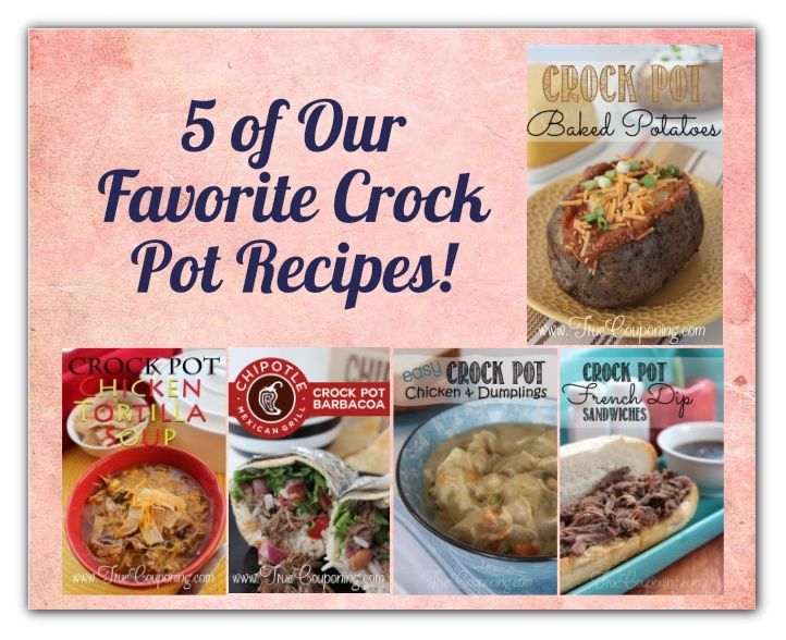 Take the Stress Out of Back to School with These 5 Favorite Crock Pot Recipes!