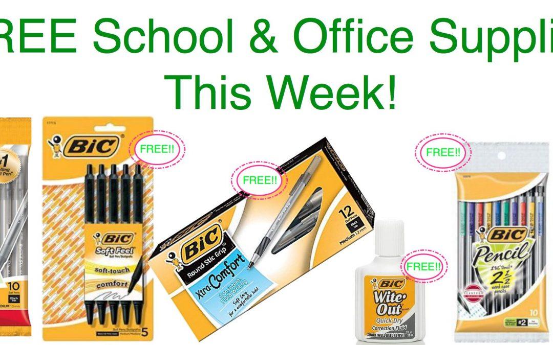 Fox Deal of the Week! LOTS of FREE Office & School Supplies!!