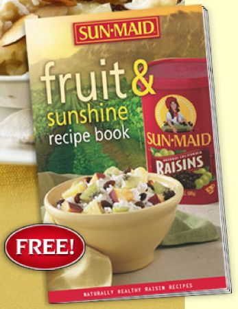 FREE Sunmaid Recipe Book {30 Recipes}!