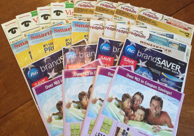 Smartsource P G Coupon Pack Date Tabs Insert Preview Stock Up Guide Only 20 Shipped