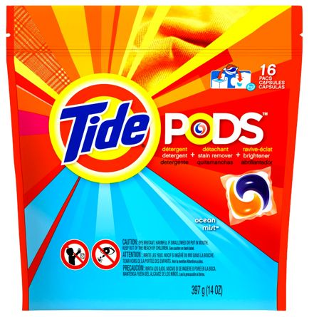 Fox Deal of the Week! Tide Pods Only $1.47 per 16ct Bag! {That's Only $0.10 per Load!}