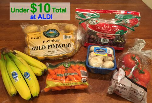 Fox Deal of the Week! Get All This At ALDI for Less Than $10! No Coupons Needed! {$5 Less Than Walmart}