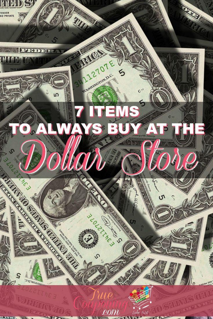 Items to ALWAYS buy at the Dollar Store | Know which items are best to buy at the Dollar Store #dollarstore #savings #dollartree #truecouponing #savingmoney