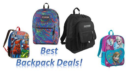 Best Backpack Deals This Week!