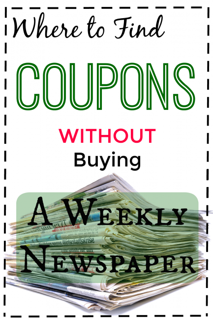 Coupons Without Newspaper