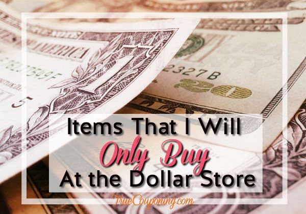SEVEN (7!) Items I ALWAYS Buy at the Dollar Store