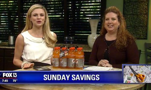 Join Me on Fox at 7:30am this Sunday 9/25 for Easy Ways to Spend Less on Those Football Parties!