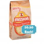 Mission Tortilla Chips $0.50 Each at Publix! ~ Starts Saturday!