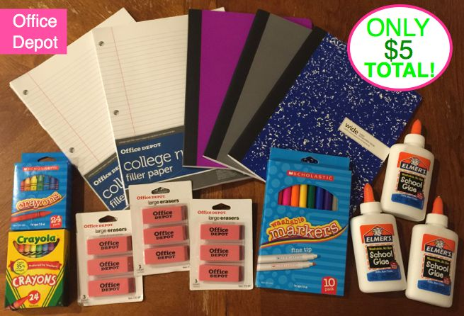 Fox School Supply Deal! Three Deal Scenarios ~ Look What I Got For $5 Total! {NO Coupons to Cut Even!}
