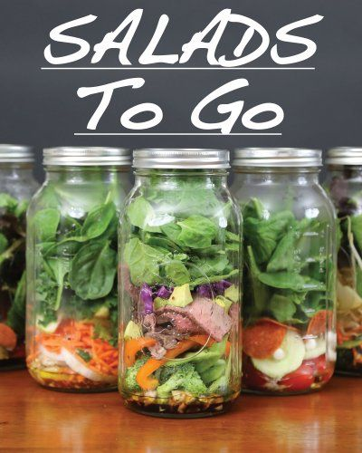Mason Jar Salad Recipes FREE eBook!