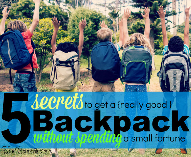 Secret Backpack Tips
