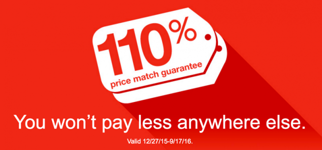 Staples Price Match Guarantee