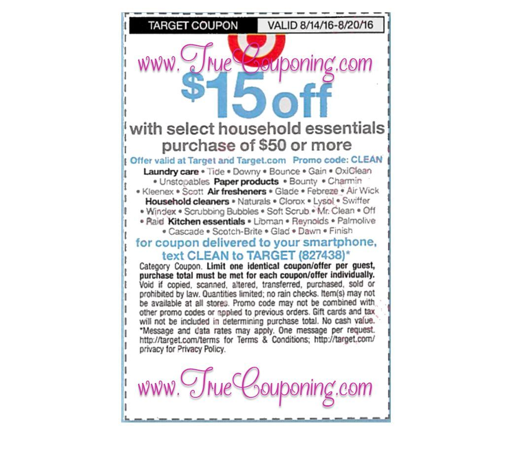 Print To Save Over $65 on Household Essentials that Match ...