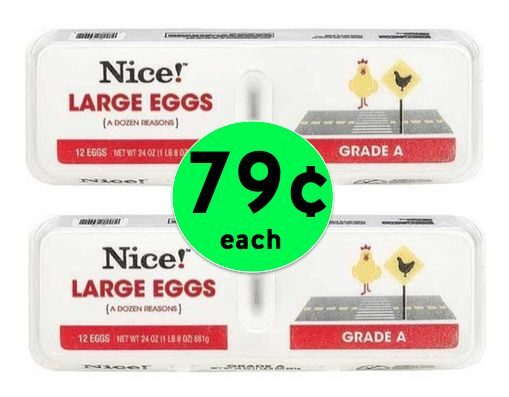 Grade A Large Eggs Only 79¢ a Dozen at Walgreens {No Coupon Needed}! ~ Right Now!