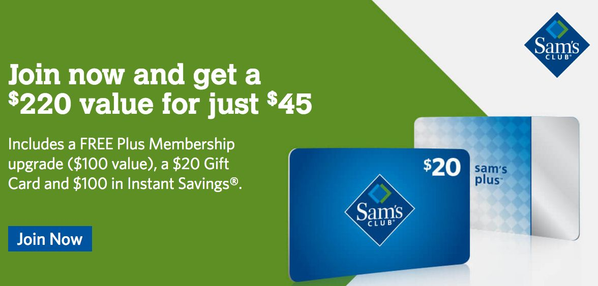 Join Sam's Club Right Now for $25 TOTAL!