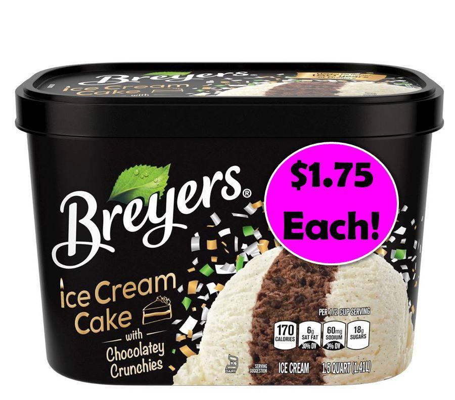 Coupon breyers ice cream